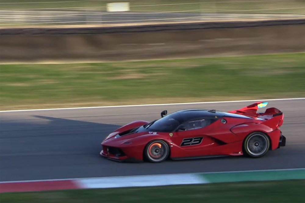 Ferrari FXX K Racing