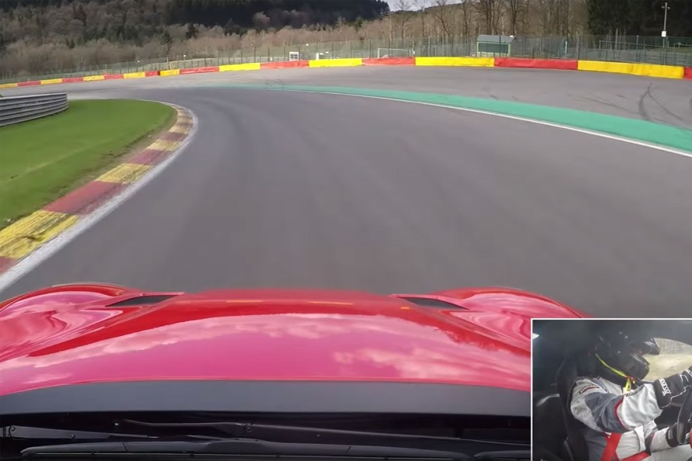 Ferrari F12tdf at Spa-Francorchamps
