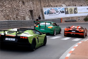 Super Car Trio in Monaco