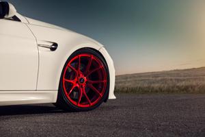 Vorsteiner Candy Red V-FF 103 Wheels