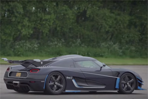 Koenigsegg One:1 Speed Records