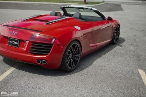 Audi R8 Spyder with PUR RS05 Wheels (1)