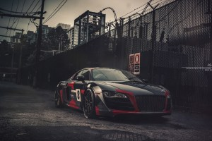 Audi R8 V10 with Brixton Forged WR3 Targa Series Wheels