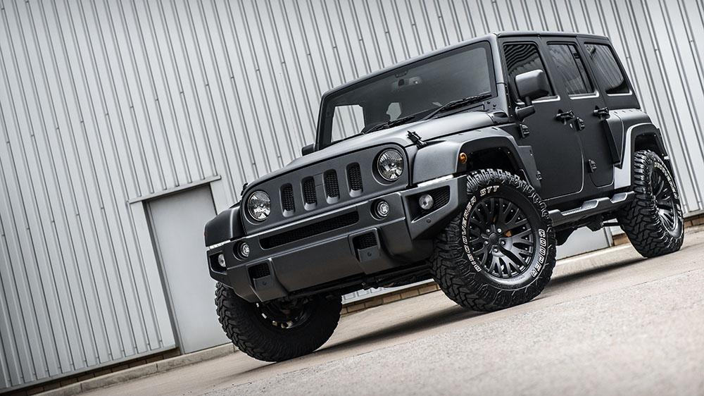 Chelsea Truck Company Jeep Wrangler CJ300 Black Hawk Edition