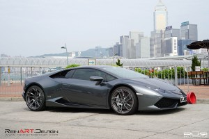 ReinART Design Lamborghini Huracan with PUR RS05.M2 forged wheels