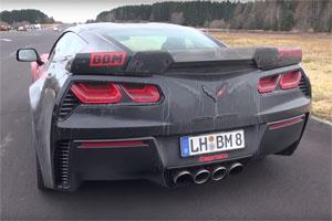 BBM Motorsport Corvette Z06 Capristo exhuast
