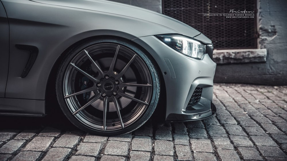 BMW 435i M Performance Brixton Forged M53 Duo Series Wheels