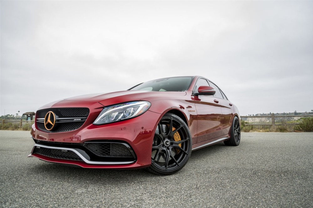 Mercedes-AMG C63 S with Vorsteiner V-FF 103 Wheels