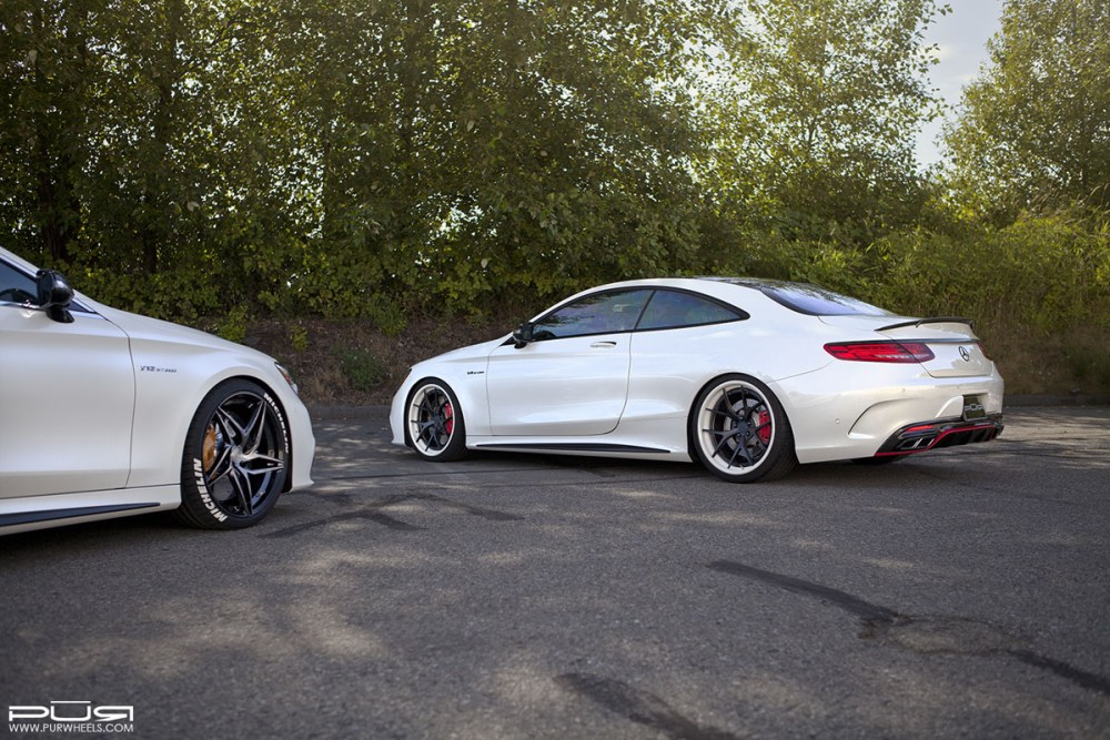 Mercedes-AMG S63 Coupe with PUR Wheels