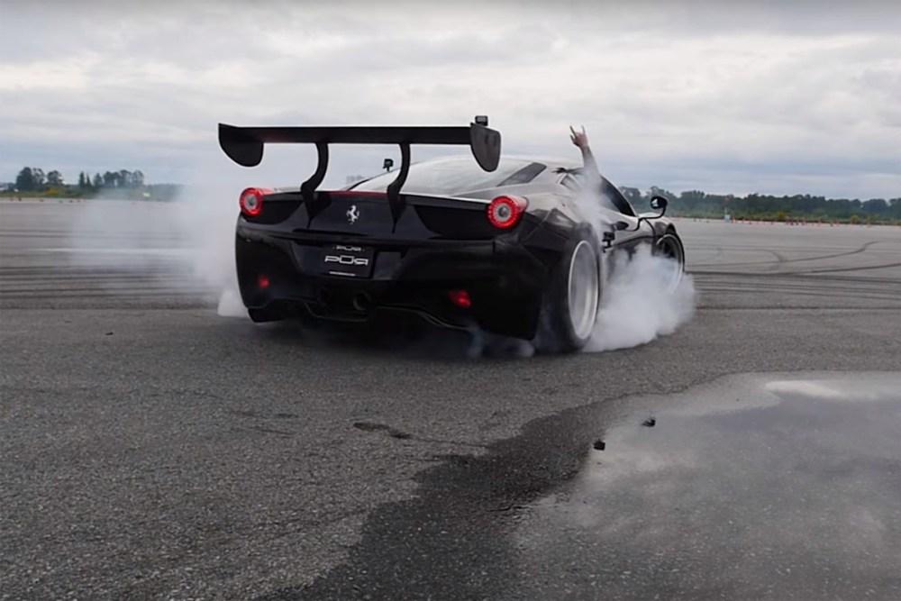 Ferrari Drifting