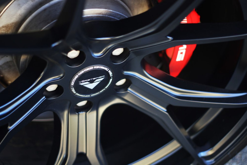 Mercedes-AMG CLS63 with Vorsteiner V-FF 103 Wheels