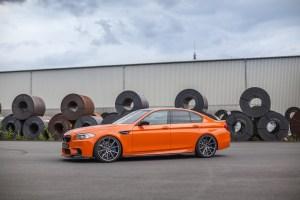 Carbonfiber Dynamics Fire Orange BWM M5 by 3DDesign