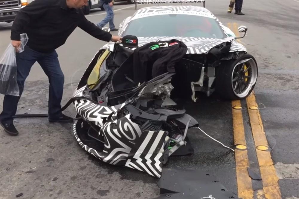 The Dailydrivenexotics Ferrari 458 Got Wrecked