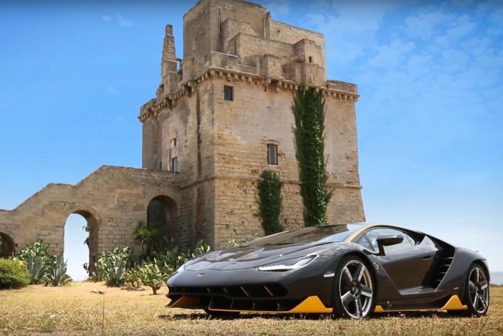 Lamborghini Centenario LP 770-4 at Nardo