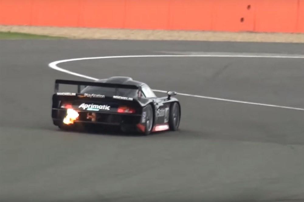 Porsche 911 GT1 Silverstone