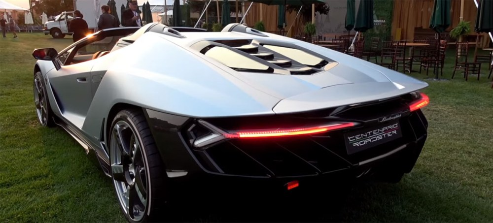 The Lamborghini Centenario Roadster Sounds Superb