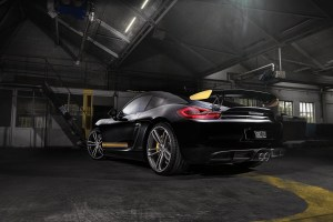 Porsche Cayman GT4 with TechArt Formula IV alloy wheels