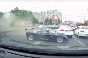 Ultima GTR Crashes in Russia