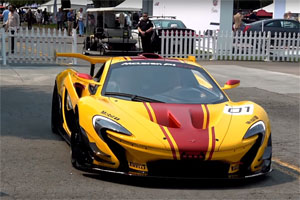 McLaren P1 GTR Monterey Car Week