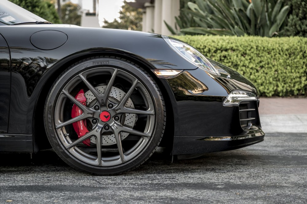 Porsche 911 Carrera S with Vorsteiner V-FF 101 Flow Forged Wheels