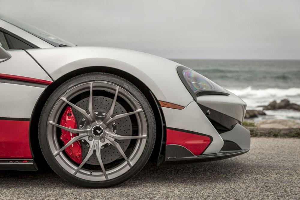 Vorsteiner McLaren 570S with VS Aero and V-FE 404 Wheels