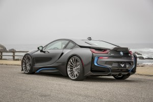 BMW i8 with Vorsteiner V-FE 402 Forged Wheels and V-RE Aero
