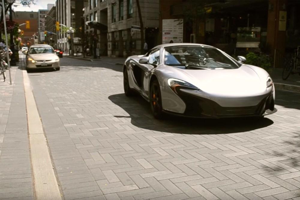 McLaren Brake Squeal