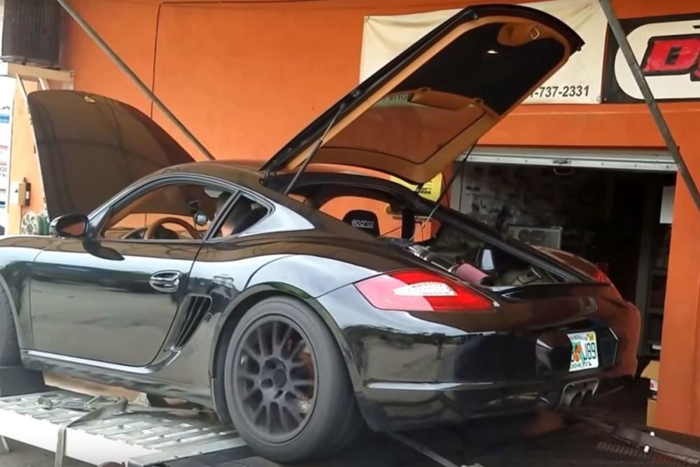 V-8 Powered Porsche Cayman