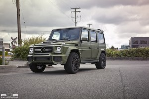 Mercedes-Benz G65 AMG with PUR RS25 Forged Wheels