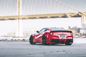 Ferrari F12Berlinetta with Brixton Forged WR7 Targa Series Wheels