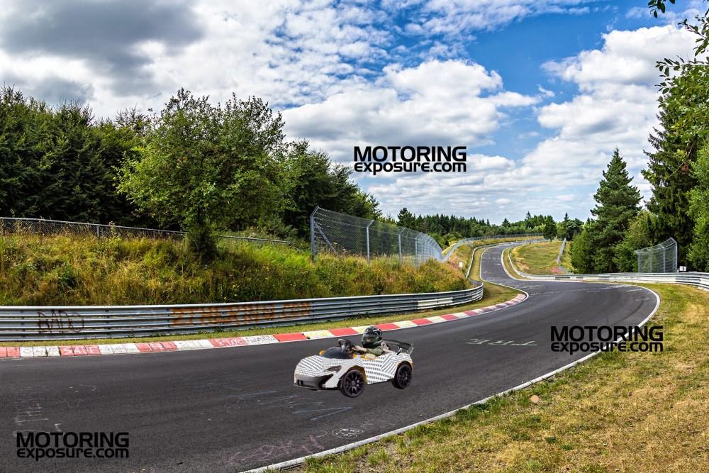 Ride On McLaren P1 GTR Nurburgring