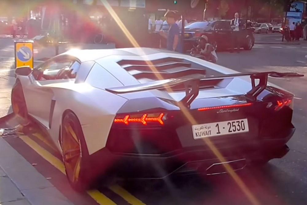 Unlucky Lamborghini Owner