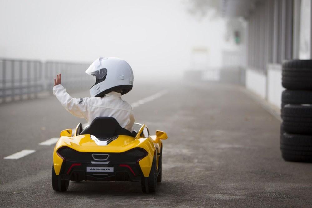 Ride-On McLaren P1 Testing