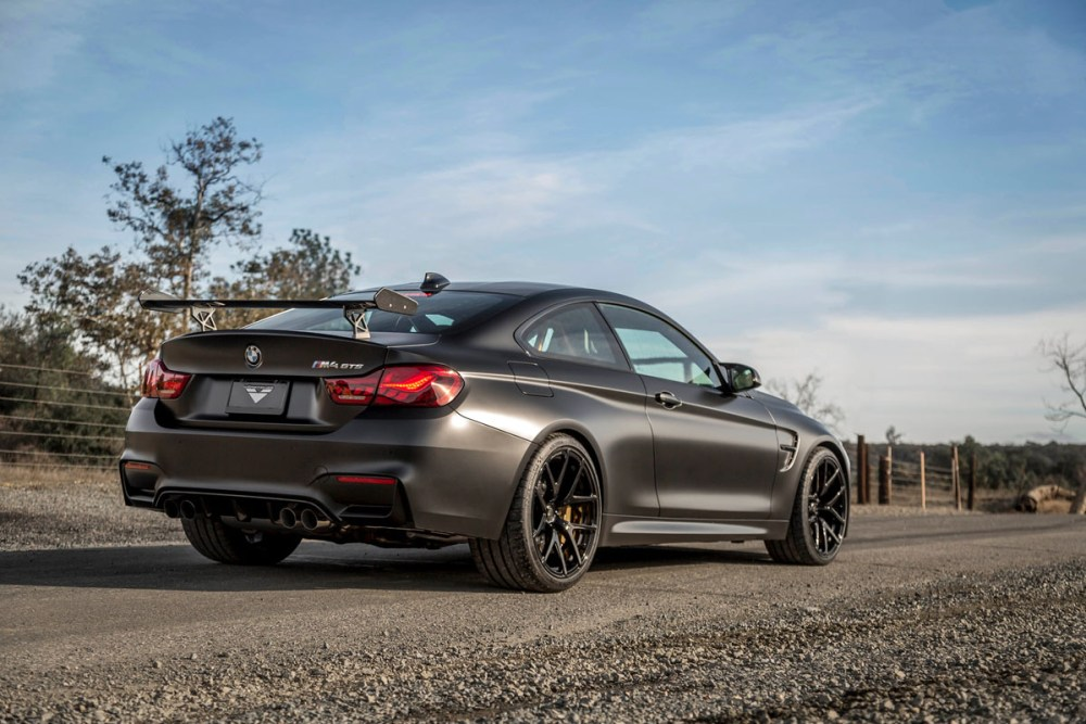BMW M4 GTS with Vorsteiner VSE-101 Forged WheelsBMW M4 GTS with Vorsteiner VSE-101 Forged Wheels