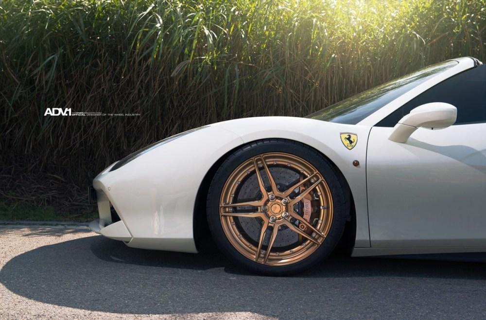 Ferrari 488 Spider ADV05 M.V2 CS Series Wheels