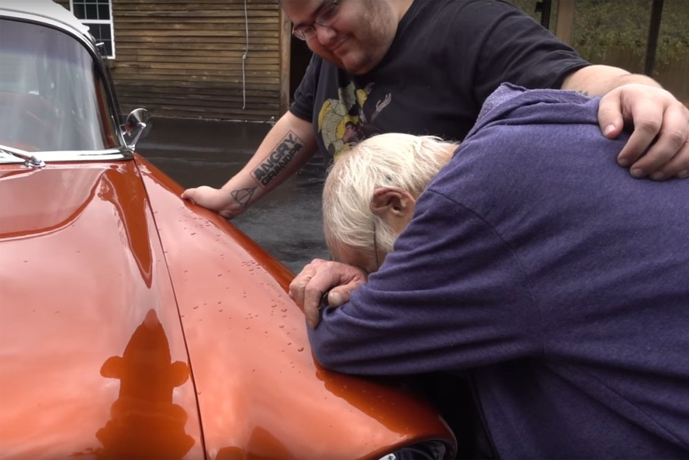 Angry Grandpa Chevy Bel Air Surprise