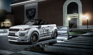 Hamann widebody Range Rover Evoque Convertible