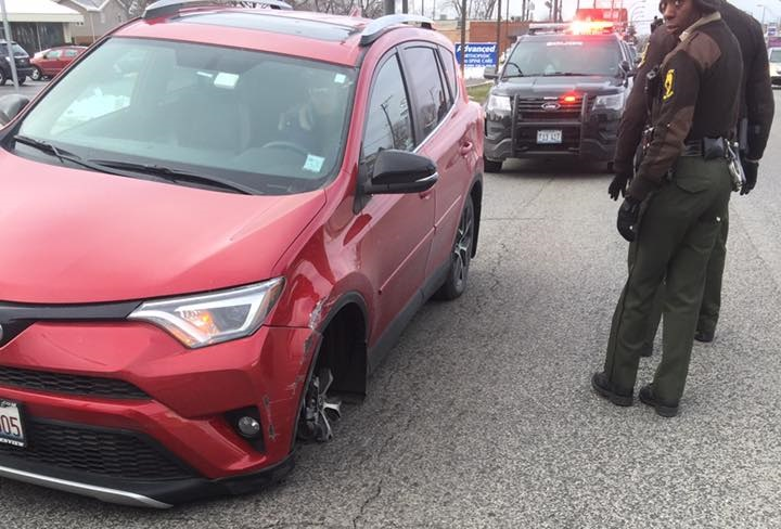 Bad Toyota RAV4 Driver