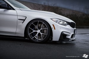 BMW M4 with PUR FL04 Wheels by SR Auto Group