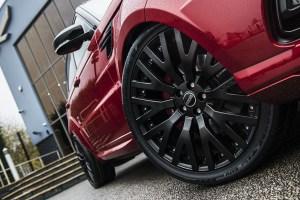 Project Kahn Range Rover Sport Dynamic Pace Car
