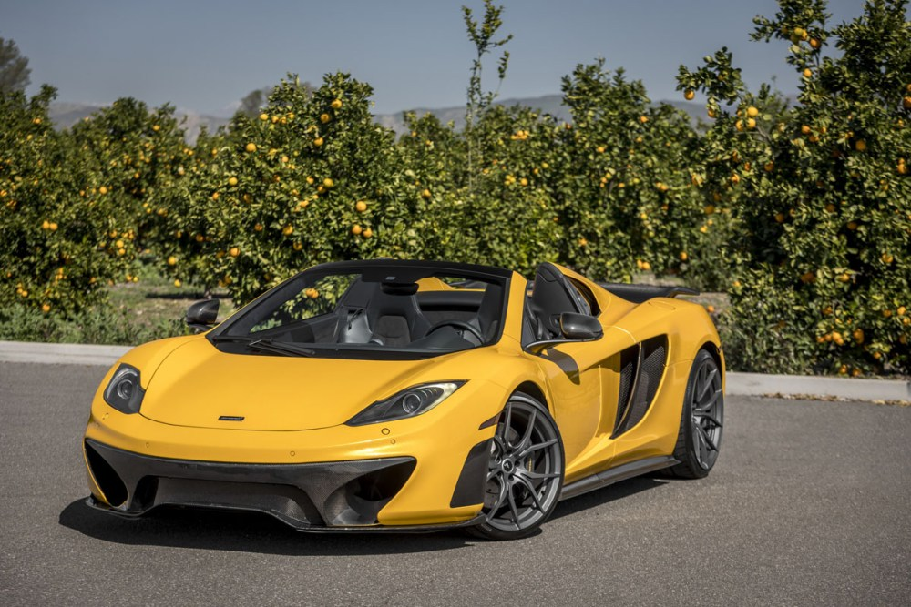 McLaren MP4-12C Spider with Vorsteiner VFN-504 Wheels