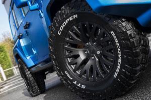 Chelsea Truck Company Jeep Wrangler Black Hawk Edition
