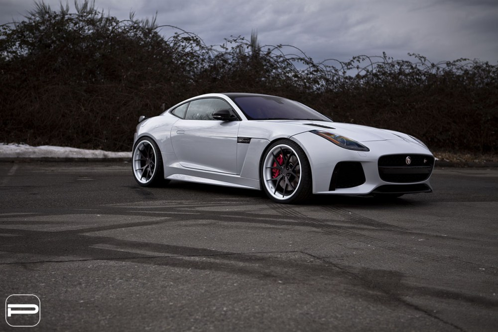 Jaguar F-Type SVR PUR LX04 wheels by SR Auto Group