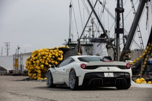 Vorsteiner Ferrari 458-VX with VFN-507 Wheels