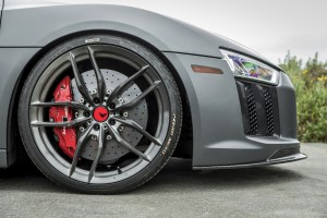 Audi R8 with Vorsteiner V-FF 105 Wheels and VRS Aero