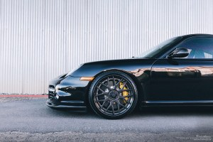 997.2 Porsche 911 Turbo with Brixton Forged CM16 Targa Series Wheels by FFTec Motorsports
