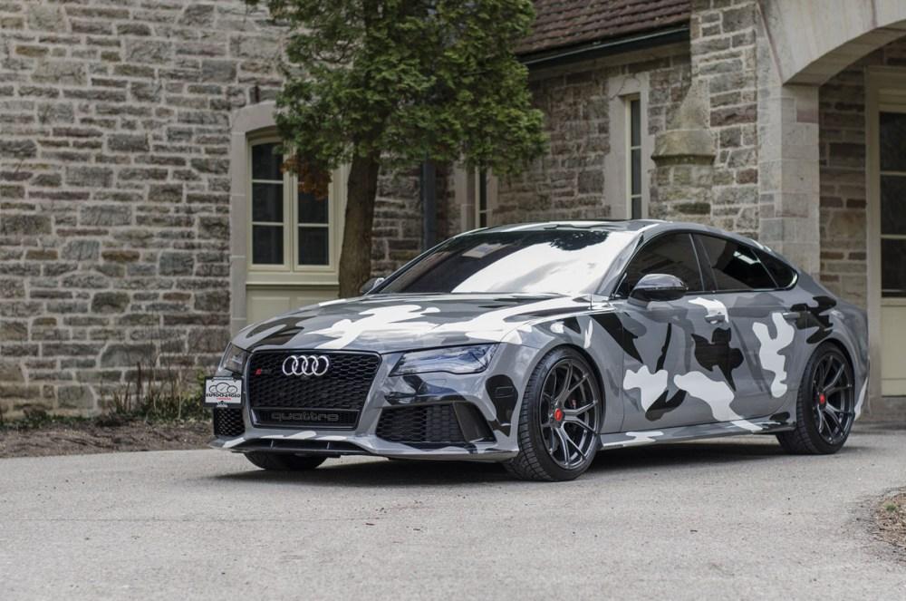 Audi RS 7 with Vorsteiner V-FF 103 Flow Forged wheels