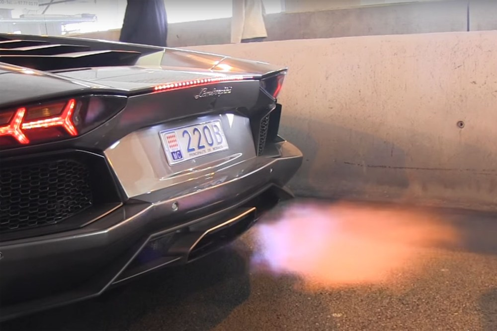Exhaust Flames