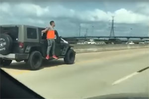 Duct Tape to Jeep Prank