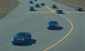 LEVELLA 10 Car Drag Race